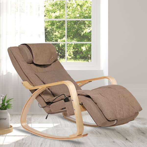 3D Reclining Heated Full Body Massage Chair By Latitude Run