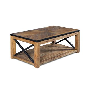 Battershell Coffee Table With Lift Top