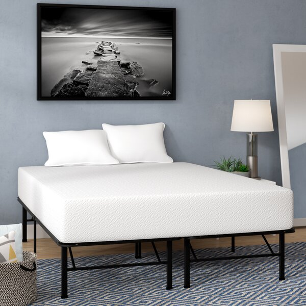 10 Medium Firm Gel Memory Foam Mattress by Alwyn H