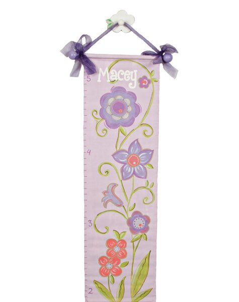 Personalized Flower Growth Chart by Renditions by Reesa
