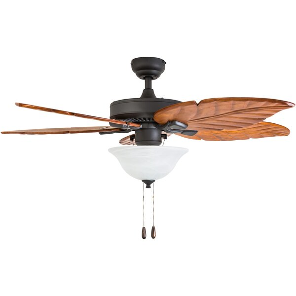 52 Jefferson 5 Blade LED Ceiling Fan by Bay Isle Home