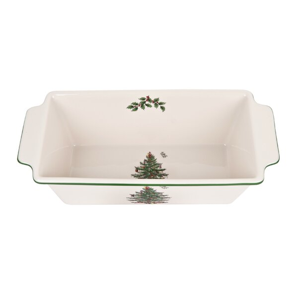 Christmas Tree Bake Loaf Pan by Spode