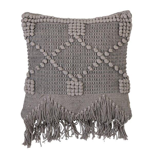 Billiot Cotton Throw Pillow by Langley Street