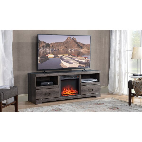 Union Rustic TV Stand Fireplaces