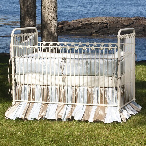 Classic Iron Stationary Crib by Corsican