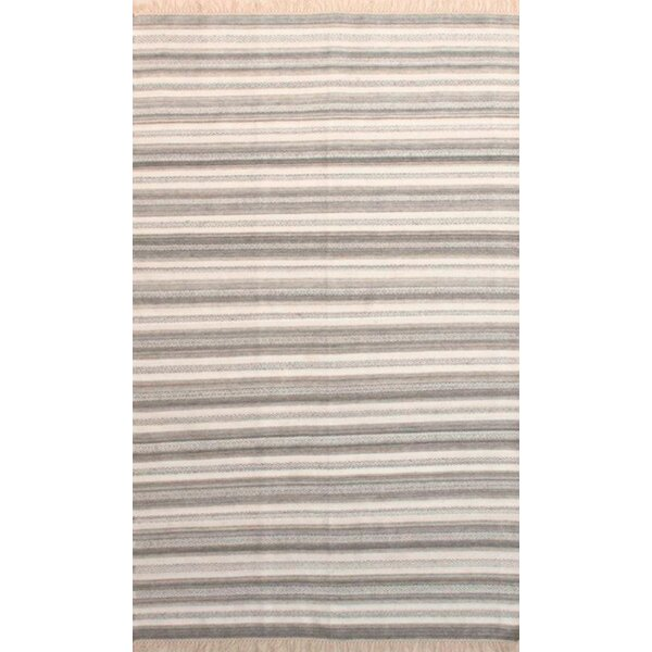Madelyn Light Gray/Ivory Area Rug by Bungalow Rose