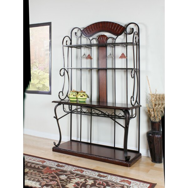 Goebel Steel Bakers Rack by Fleur De Lis Living