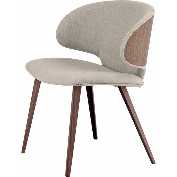 Harper Upholstered Side Chair by Modloft Black Modloft Black