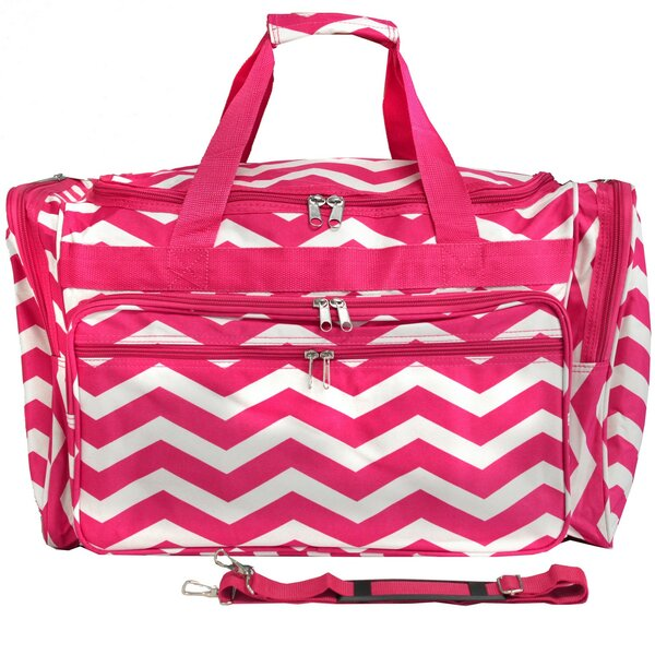 Chevron 22 Travel Duffel by World Traveler