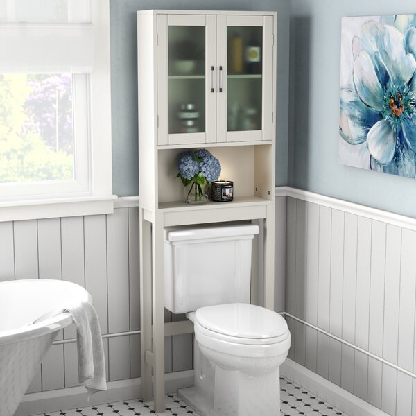 Poyner 22.5 W x 67.3 H Over the Toilet Storage by Rebrilliant
