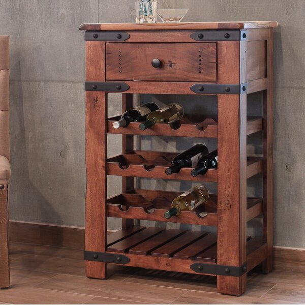 Rockdale 12 Bottle Floor Wine Rack by Loon Peak