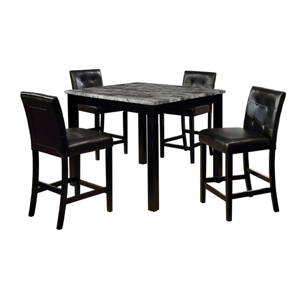 Fleener 5 Piece Dining Set by Latitude Run Latitude Run