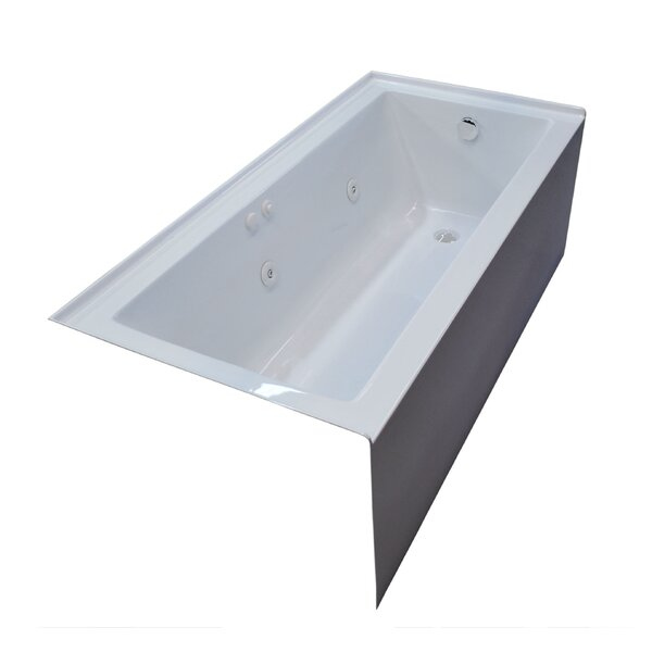 Castle 60 x 30 Front Skirted Whirlpool Bathtub by Spa Escapes