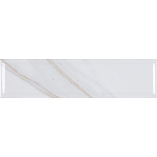 Classique Calacatta 4 x 16 Ceramic in White by MSI