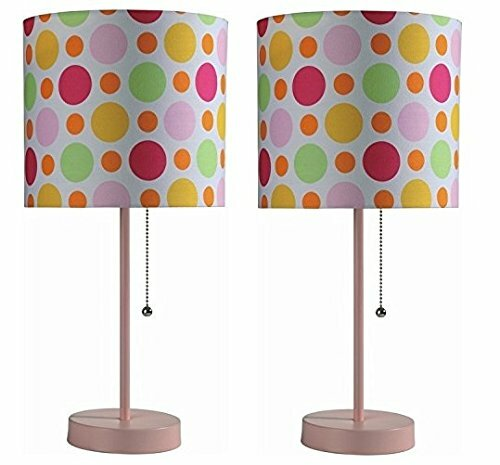 Pull Chain with Fancy Shade 19 Table Lamp (Set of 2) by Zoomie Kids