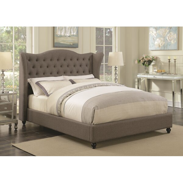 Pipers Upholstered Standard Bed by Darby Home Co
