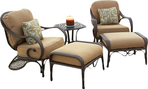 Jared Deep Seating Chair with Cushions by World Menagerie