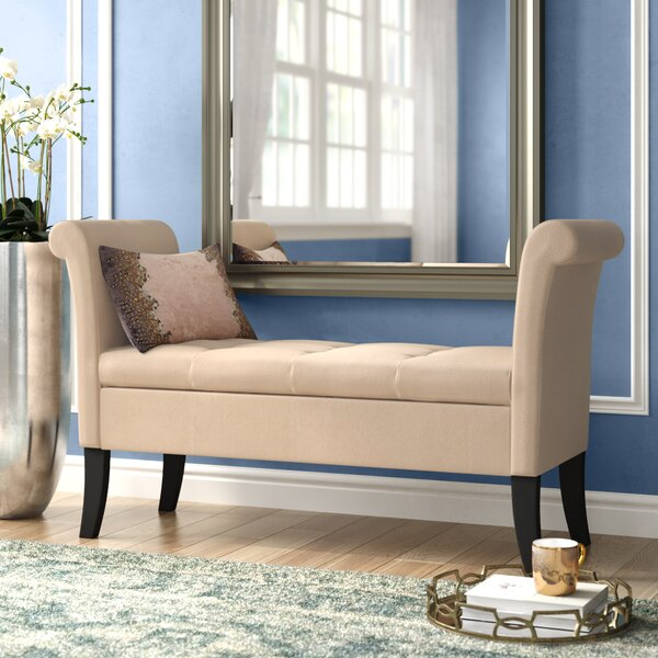 Lazzaro Upholstered Storage Bench by Willa Arlo Interiors