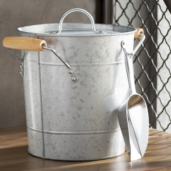 Cawley Ice Bucket with Scoop by Birch Lane™