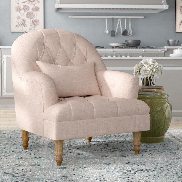 Palafox Tufted Armchair by Lark Manor