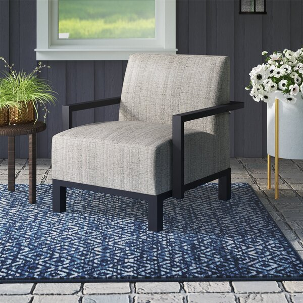 Imala Patio Chair with Cushions by Ivy Bronx Ivy Bronx