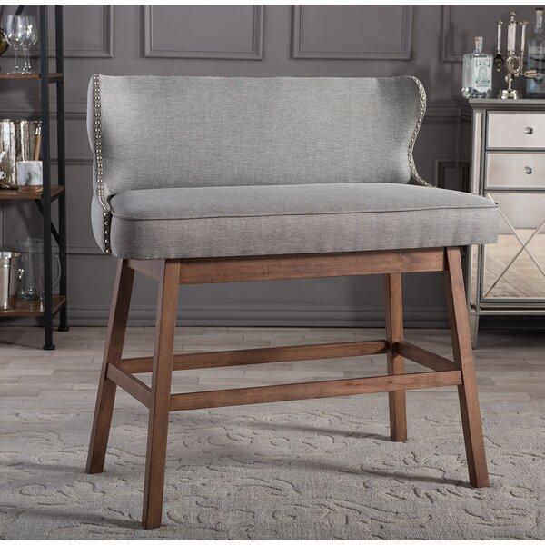 Isobel Upholstered Bar Bench by Corrigan Studio