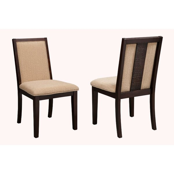 Lapoint Upholstered Dining Chair (Set of 2) by Alcott Hill