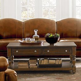 McGregor Coffee Table with Magazine Rack by Standard Furniture
