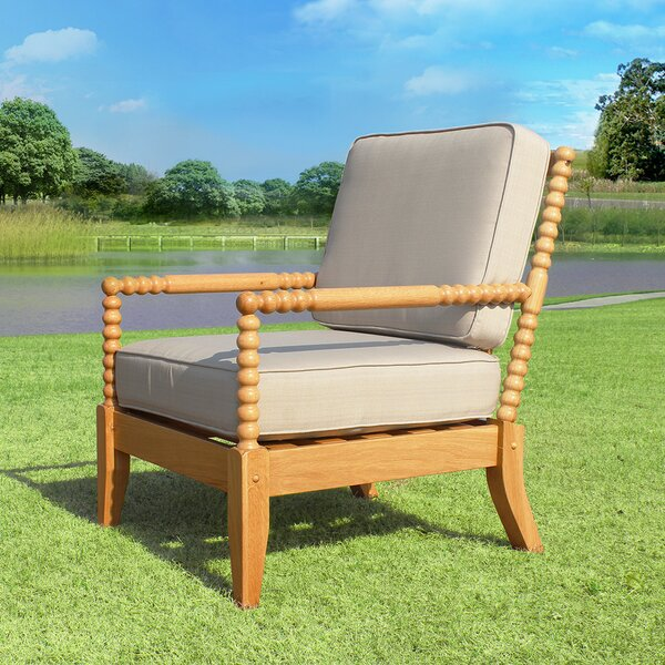 Rumfelt Patio Chair with Cushions (Set of 2) by Millwood Pines