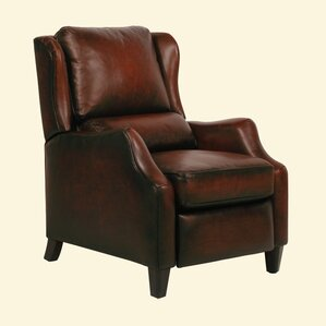 Berkley ll Wing Leather Recliner by Barcalounger