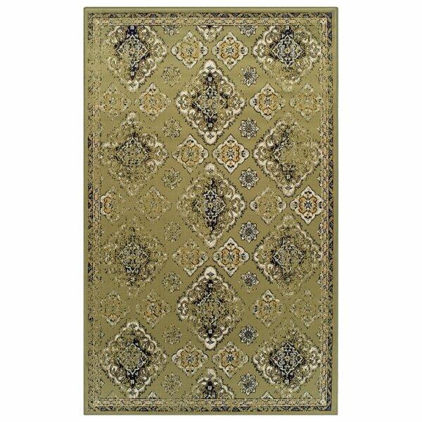 Chauntel Green Area Rug by Bungalow Rose