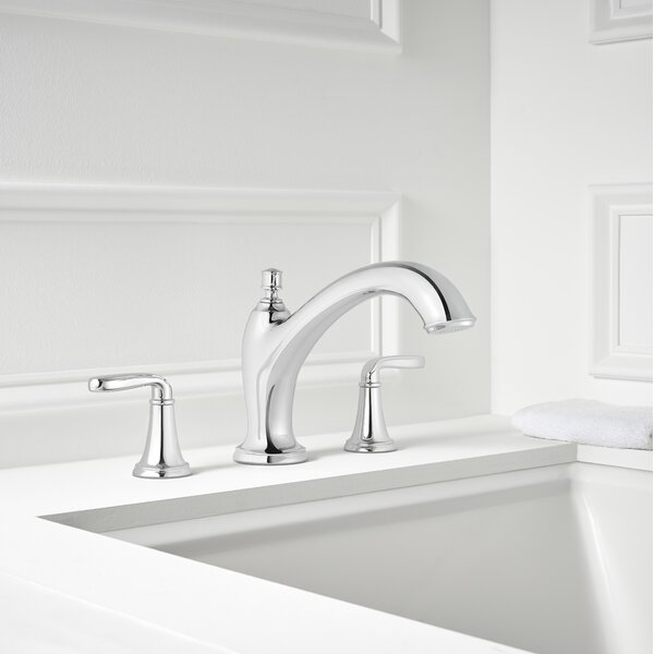 Northcott Double Handle Deck Mount Roman Tub Faucet by Pfister