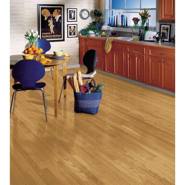 Manchester 2.25 Solid Red Oak Hardwood Flooring in Blonde by Bruce Flooring