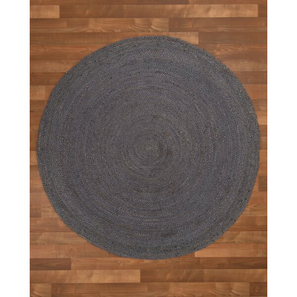 Nadine Hand-Woven Gray Area Rug by Threadbind