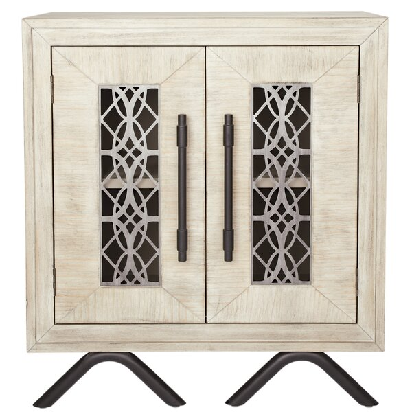 Michaelis 2 Door Accent Cabinet by Bungalow Rose Bungalow Rose