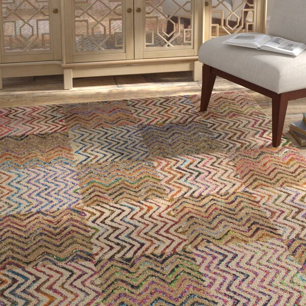 Tufted Cotton Area Rug by Bungalow Rose