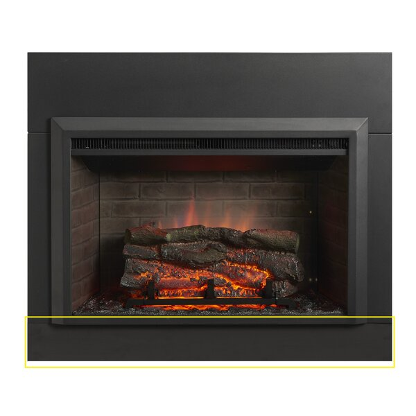 Zero Clearance Surround For Electric Fireplace Metal Trim Kit By The Outdoor GreatRoom Company