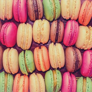 'Macaroons' Photographic Print by Ivy Bronx
