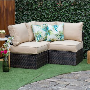 Commercial Use L Shaped Patio Sofas
