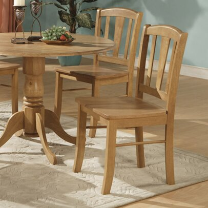 Spruill Solid Wood Dining Chair (Set of 2) by August Grove