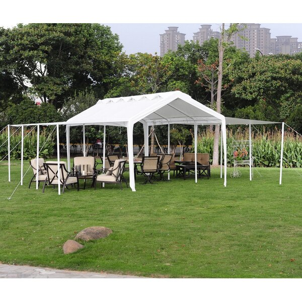 10 Ft. W X 20 Ft. D Metal Party Tent By Sunjoy.