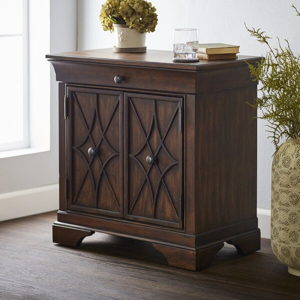 Delilah 1 Drawer Accent Cabinet by Trisha Yearwood Home Collection