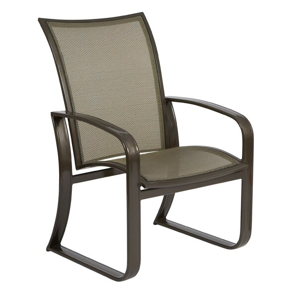 Cayman Isle Flex Patio Dining Chair by Woodard