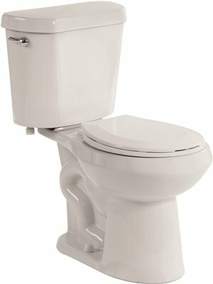1.28 GPF Round Two-Piece Toilet by Premier Faucet