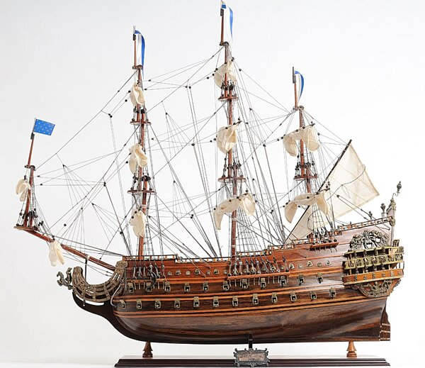 Solei Royal Model Boat by Old Modern Handicrafts
