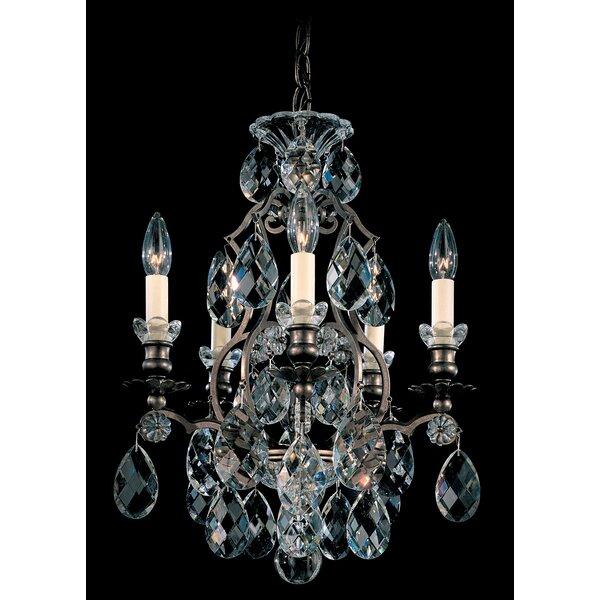 Renaissance 5-Light Candle Style Empire Chandelier By Schonbek