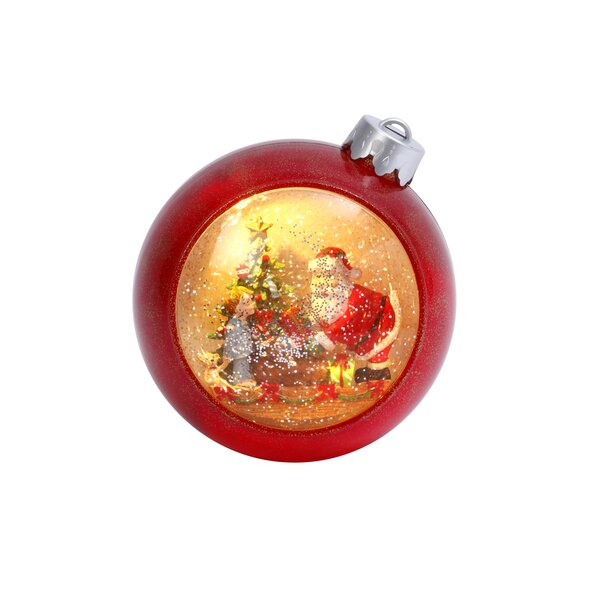 Musical Water Christmas Ball Ornament by The Holiday Aisle