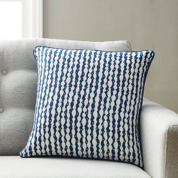 Landry Cotton Throw Pillow by Langley Street