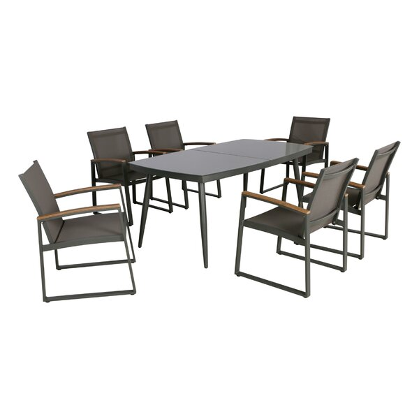Framingham 7 Piece Dining Set by Williston Forge