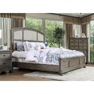 Marta Upholstered Panel Bed by Canora Grey